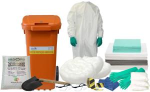 Kit Proteção Ambiental 240 litros - Linha Branca – Container